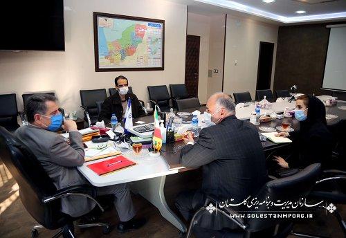 رئیس سازمان مدیریت و برنامه ریزی استان گلستان:اعتبارات هواشناسی کشور در لایحه بودجه 1400 نسبت به سال 1399 از افزایش چشمگیر 66/1 برخوردار است