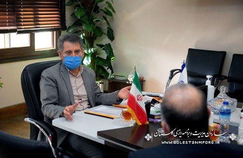 رئیس سازمان مدیریت و برنامه ریزی استان گلستان:تدوین استاندارد یکی از شاخص های اثرگذار در ارزیابی عملکرد اداره کل استاندارد