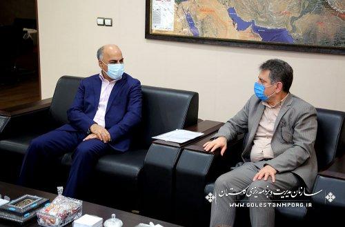 رئیس سازمان:سازمان مدیریت و برنامه ریزی استان گلستان،نگاه همه جانبه به همه محورهای توسعه ای استان دارد