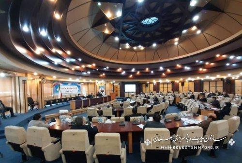 رئیس سازمان مدیریت و برنامه ریزی استان گلستان در جلسه کارگروه تسهیل و رفع موانع تولید
