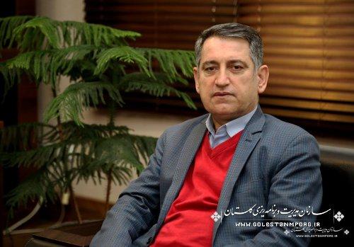 پیام تبریک رئیس سازمان مدیریت و برنامه ریزی استان گلستان به مناسبت ولادت حضرت علی اکبر علیه السلام  و روز جوان