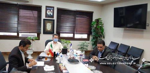 اولین جلسه شورای معاونین در سال 1400 در سازمان مدیریت و برنامه ریزی استان گلستان