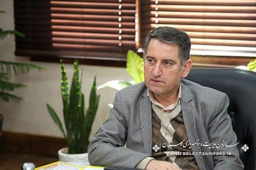 رئیس سازمان مدیریت و برنامه ریزی استان گلستان:رتبه 8 استان گلستان در اعتبارات تملکی و رتبه 17 در اعتبارات عمرانی در بودجه سال 1400