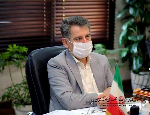 رئیس سازمان مدیریت و برنامه ریزی استان گلستان در وبینار بودجه 1400