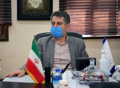 جلسه رئیس سازمان مدیریت و برنامه ریزی استان گلستان با مدیرکل دامپزشکی استان