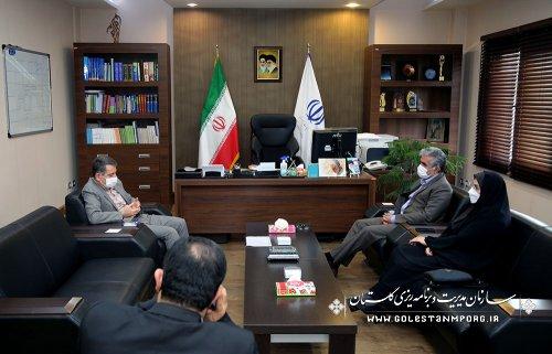 تاکید رئیس سازمان مدیریت و برنامه ریزی استان گلستان بر اهتمام ویژه به پروژه های نیمه تمام آموزش و پرورش ،تحولی اساسی در امر مدرسه سازی در استان