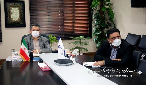 رئیس سازمان مدیریت و برنامه ریزی استان گلستان در وبینار تخصصی ارائه دستاوردها و نتایج تجربه چهارم آمایش سرزمین در ایران