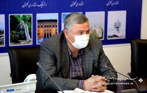 رئیس سازمان مدیریت و برنامه ریزی استان گلستان در جلسه شورای فنی استان