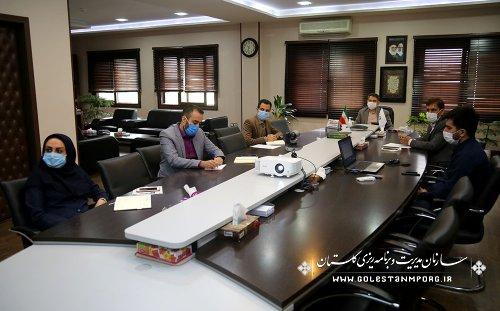 رئیس سازمان مدیریت و برنامه ریزی استان گلستان در اولین نشست سراسری سازمان مدیریت و برنامه ریزی استانها به منظور هماهنگی جهت برگزاری شورای هماهنگی توسعه منطقه ای در کشور