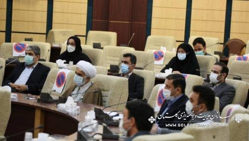 رئیس سازمان مدیریت و برنامه ریزی استان گلستان در جلسه ستاد ساماندهی امور جوانان استان