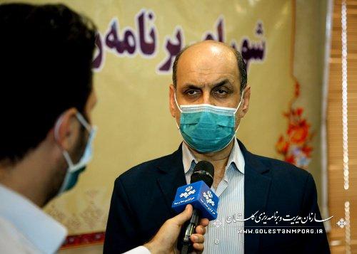 رئیس سازمان مدیریت و برنامه ریزی استان گلستان در اولین جلسه شورای برنامه ریزی و توسعه استان در سال 1400
