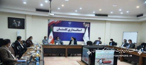 سازمان مدیریت و برنامه ریزی استان گلستان در جلسه با مدیران کشت و صنعت جوین