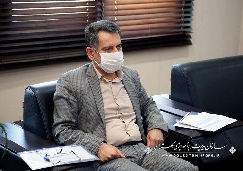 رئیس سازمان مدیریت و برنامه ریزی استان گلستان:بودجه شاهرگ حیاتی و آیینه تمام نمای همه برنامه های توسعه ای استان می باشد