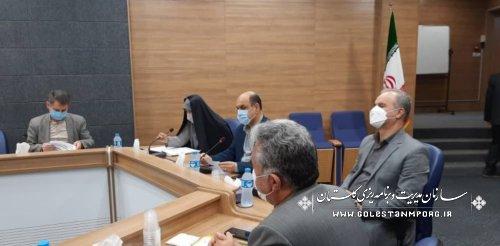 رئیس سازمان مدیریت و برنامه ریزی استان گلستان در جلسه انجمن کتابخانه های عمومی استان