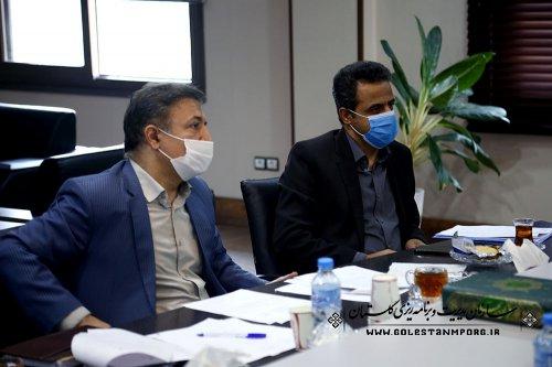جلسه پژوهشی سرپرست مرکز آموزش و پژوهش های توسعه و آینده نگری سازمان با دستگاه های اجرایی استان