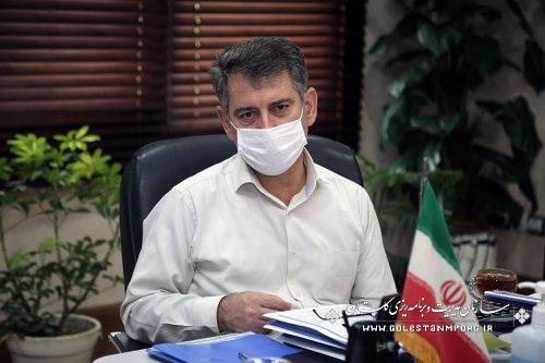 جلسه رئیس سازمان مدیریت و برنامه ریزی استان گلستان با رئیس ستاد اقامه نماز استان