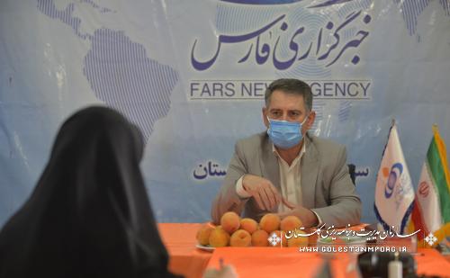 رئیس سازمان مدیریت و برنامه ریزی استان گلستان:امسال ۹۰ میلیارد تومان اعتبار برای آبرسانی شرب در گرگان مصوب شد