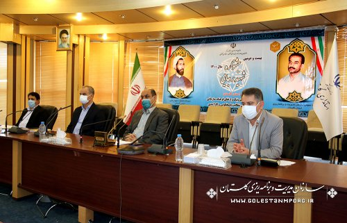 رئیس سازمان مدیریت و برنامه ریزی استان گلستان:دستگاه های اجرایی استان،برش برنامه ها را با هدف اسناد توسعه ای استان فراهم نمایند
