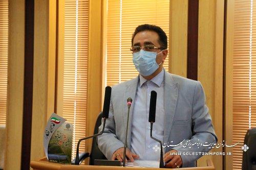 رئیس سازمان مدیریت و برنامه ریزی استان گلستان در بیست و دومین جشنواره شهیدرجایی استان گلستان