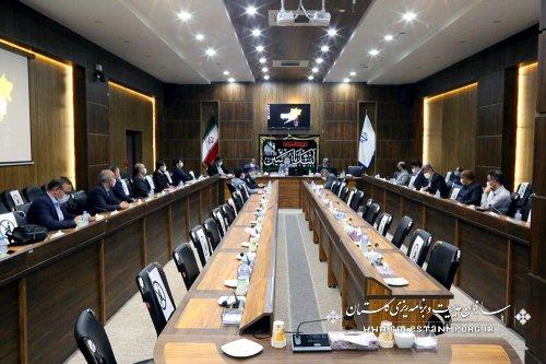 رئیس سازمان مدیریت و برنامه ریزی استان گلستان:یکی از راههای برون رفت اجرای پروژه های مهم در استان،استفاده از فاینانس داخلی می باشد