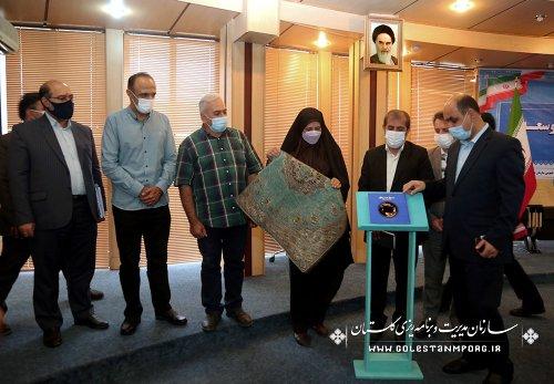 رئیس سازمان مدیریت و برنامه ریزی استان گلستان در چهارمین جلسه شورای برنامه ریزی و توسعه استان