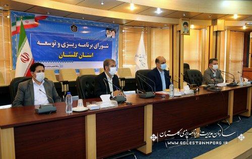 رئیس سازمان مدیریت و برنامه ریزی استان گلستان:پیش بینی بررسی مقابله با ریزگردها در لایحه سال 1401