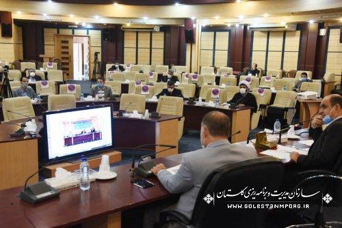 حضور رئیس سازمان مدیریت و برنامه ریزی استان گلستان در دومین جلسه شورای مسکن استان