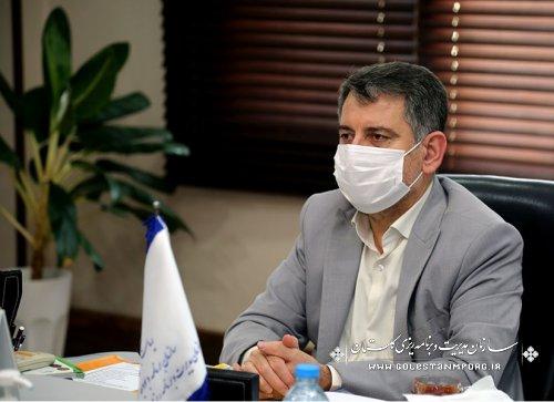 رئیس سازمان مدیریت و برنامه ریزی استان گلستان در دوازدهمين جلسه ستاد تهيه و تدوين لايحه بودجه سال ۱۴۰۱ كل كشور
