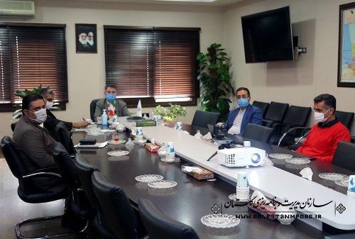 رئیس سازمان مدیریت و برنامه ریزی استان گلستان در چهاردهمين جلسه ستاد تهيه و تدوين لايحه بودجه سال ۱۴۰۱ كل كشور
